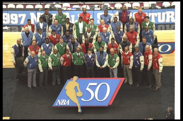 NBA 50 Greatest Players
