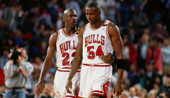 Chicago Bulls:Horace Grant and Michael Jordan