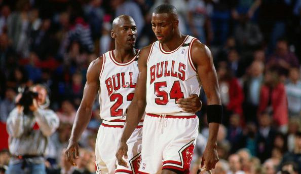 Chicago Bulls:Horace Grant and Michael Jordan